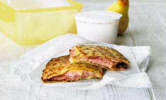 Ham and Cheese Lunchbox Toastie